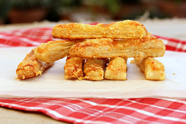 Mustard and Gruyere Batons