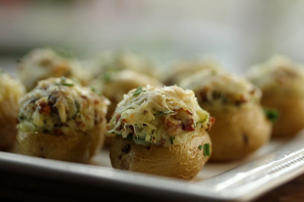 Mini Twice-Baked Potato Appetizers