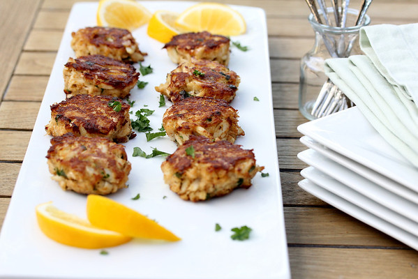 Mini Maryland Crab Cakes from Karen's Kitchen Stories