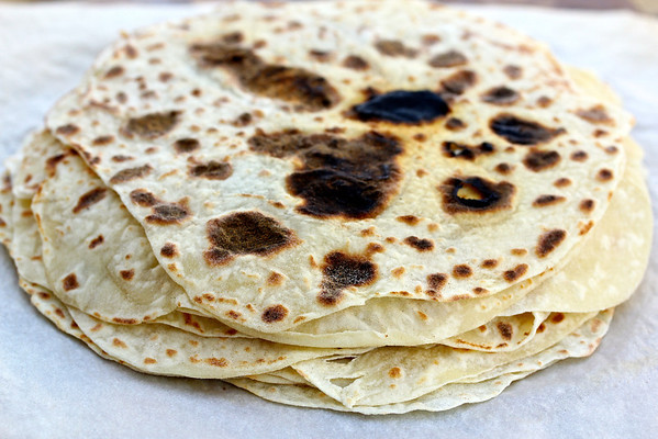 Potato Lefse from Karen's Kitchen Stories