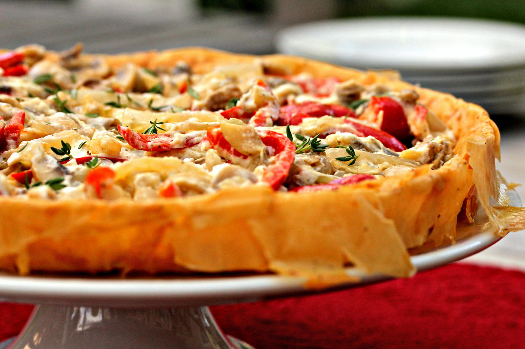 Summer Vegetable Tart | Karen's Kitchen Stories