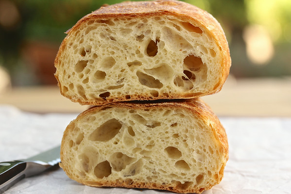 No Knead Durum Stirato - Karen's Kitchen Stories