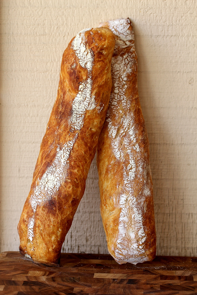 Stirato | Italian Baguettes | Karen's Kitchen Stories