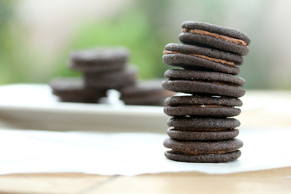 Mini Chocolate Sandwich Cookies
