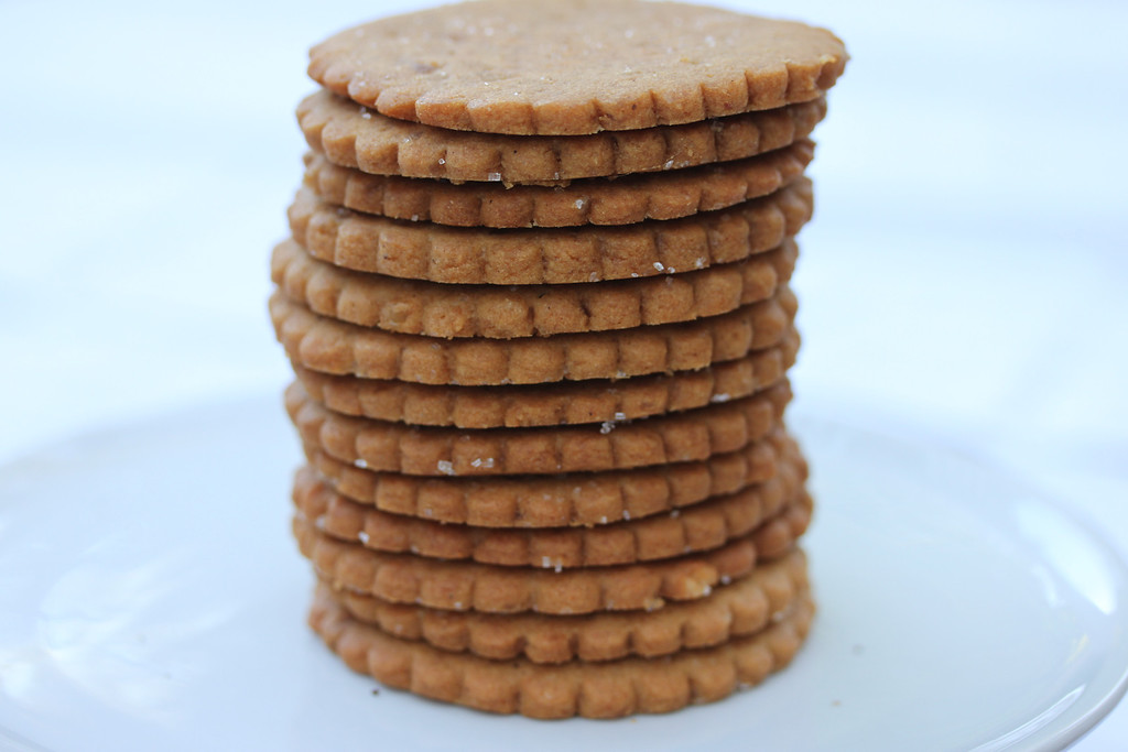 homemade gingersnaps