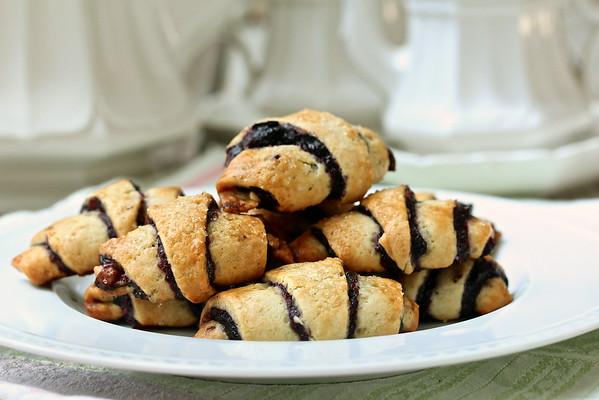 Blueberry Pecan Rugelach: Karen's Kitchen Stories