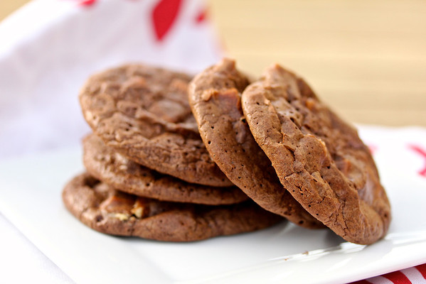 Chocolate Espresso White Chocolate Chunk Cookies