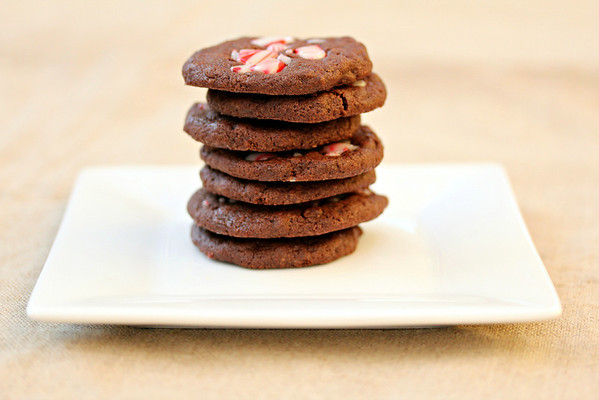 Chocolate Peppermint and Chocolate Chip Cookies