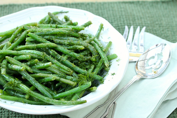 Haricot Vert Salad | French Green Bean Salad with Dijon Vinaigrette
