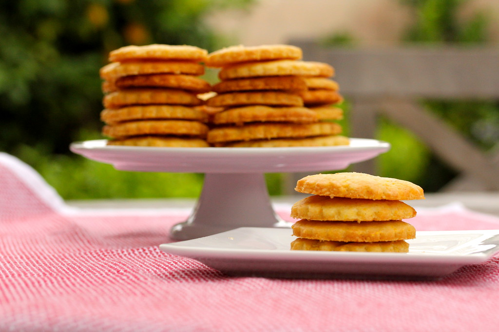 Cornmeal Sables | Sweet Corn Cookies