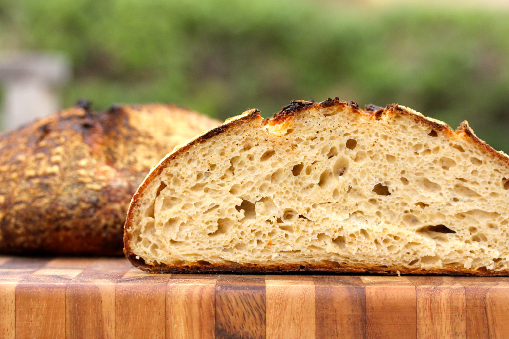Pure levain country bread