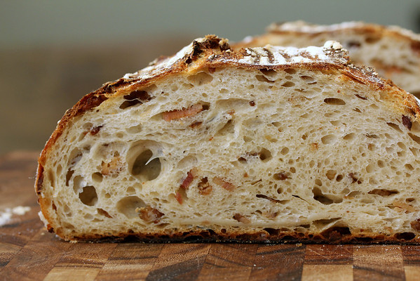 Pain au Bacon - Bacon Sourdough Bread