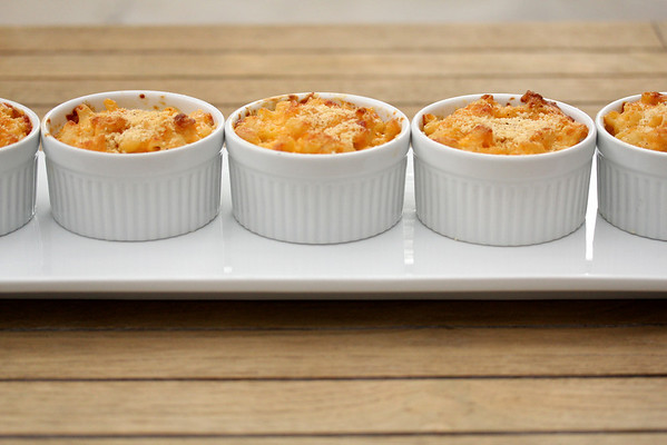 Individual Baked Macaroni and Cheese