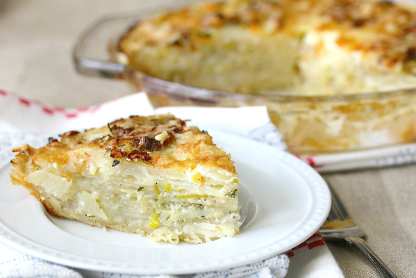 Potato Leek Pie