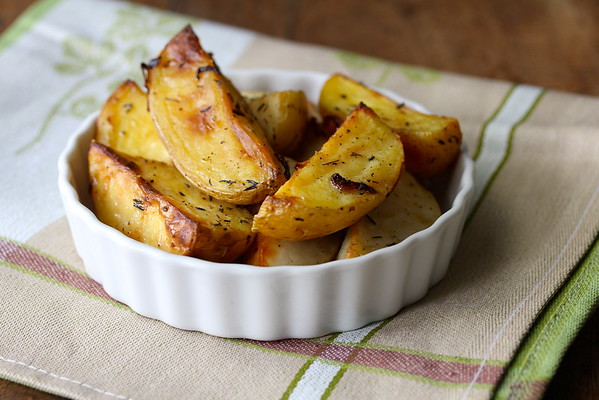 Roasted Yukon Gold Potato Wedges