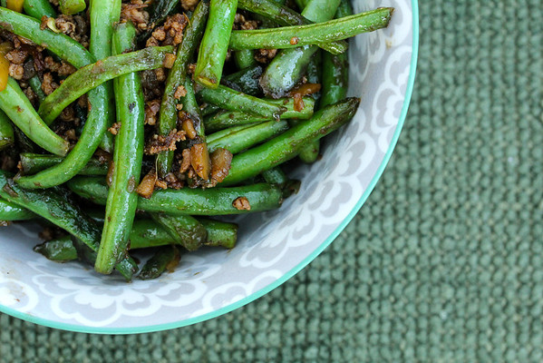 Dry-Fried Sichuan Beans | Wok Wednesdays