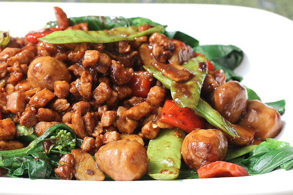 Cantonese Style Stir-Fried Pork with Chinese Broccoli | Wok Wednesdays