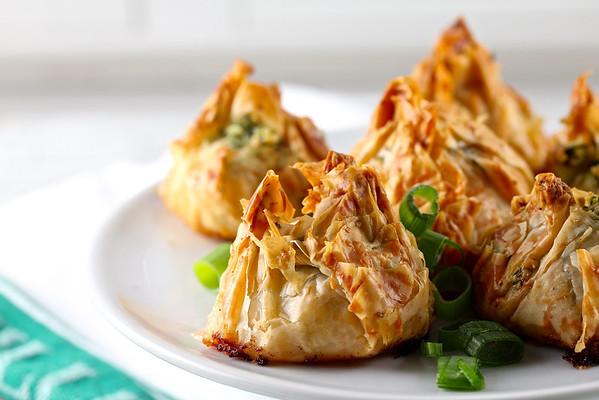 Scallop and Pesto Purses   Karen's Kitchen Stories