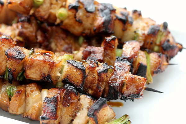 Thai-Flavored Pork Belly Skewers