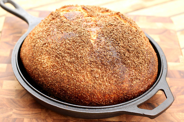 Bran-Encrusted Levain Bread Karen's Kitchen Stories