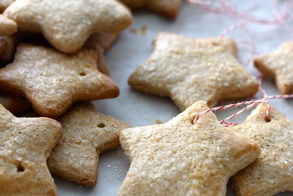 60. Zimsterne / German Christmas Cookies | Karen's Kitchen Stories