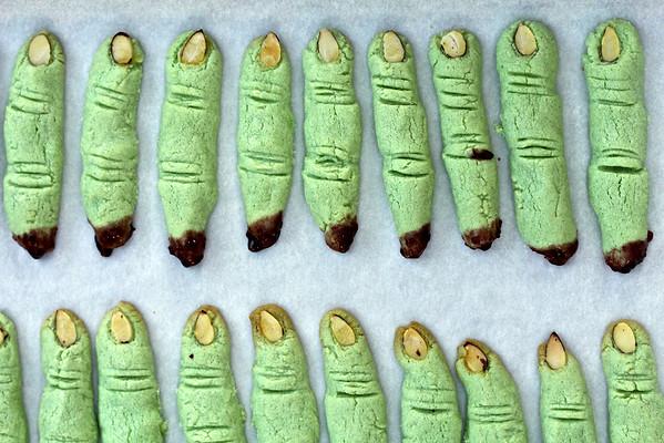 Witch Finger Cookies: Karen's Kitchen Stories