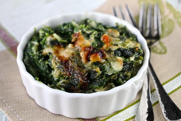Spinach Gratin | Karen's Kitchen Stories