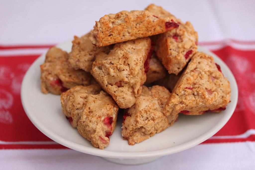 Strawberry Scones for #twelveloaves