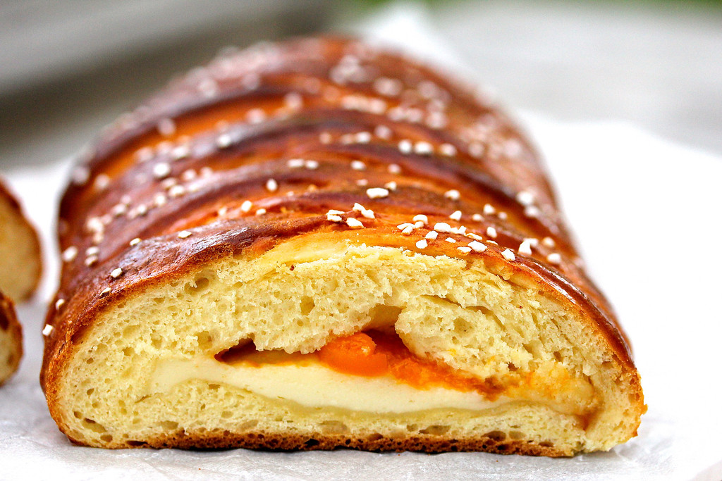 Apricot Braided Loaf