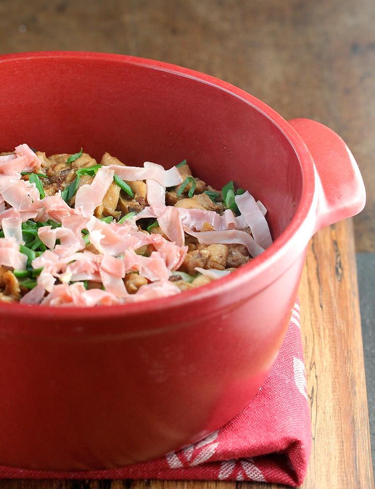 Sandpot Stir-Fried Chicken Rice