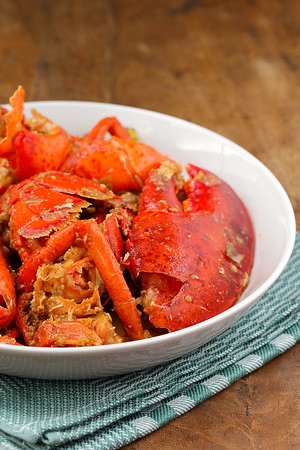 Singapore-Style Stir-Fried Lobster | Wok Wednesdays
